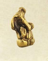 adorable lord ganesha statue in brass spiritual home decor sivalya