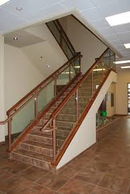Iron Stair Banister Custom Fabricated Metal Stairs And Railings Boise Metal Works