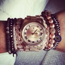 beaded bracelet watches images Jewels watch bracelets diamonds rolex rolex gold chunky jpg