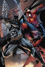 spiderman fan art batman spiderman mike lilly