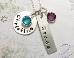 custom necklace pendant merry custom charm necklace ela live the you engraved