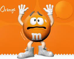 m m s orange