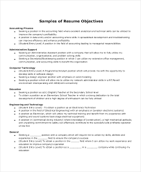 Sample Resume Objectives For Entry Level by Office Assistant Resume Templates Samples Of Resume Objectives