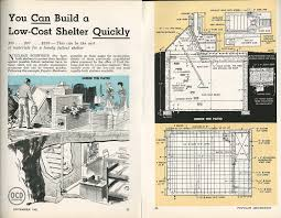 bomb shelters then and now popular mechanics build your own shelter plans