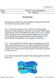 primaryleap co uk precipitation worksheet