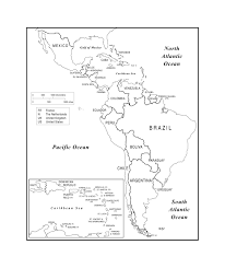 Geographical Map Of South America Maps Of The Americas Page 2