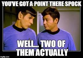 Spock Memes - spock memes spock and mccoy imgflip hilarious memes