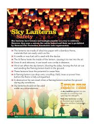 Wild Fire Quincy Ca by Sky Lanterns Are Prohibited In California City Newsroom City