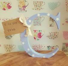 Personalised Baby Nursery Decor Elijah And Personalised Baby Letter Nursery Decor