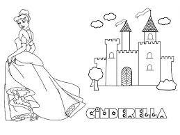 disney castle coloring free download