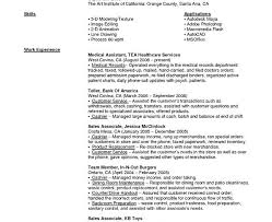 Resume Experience Order Exciting Bank Teller Resume Skills 15 Sample Objective Statements