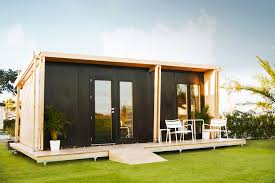 tiny houses prefab vivood a prefab tiny house powered by solar panels