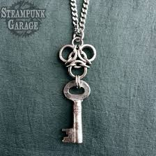 antique key necklace images Steampunk jewelry clothing furniture accessories more jpg