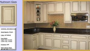 Antique Glazed Kitchen Cabinets With Stained Trim Exitallergycom - Glazed kitchen cabinets