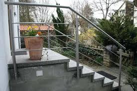 handlauf fã r treppen gelander fur aussentreppe standard auaentreppe gartentreppe treppe