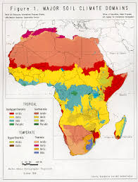 Map Of Sub Saharan Africa An Assessment Of The Soil Resources Of Africa In Relation To
