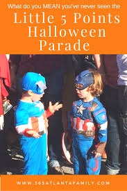 a complete guide to the quirky little 5 points halloween parade