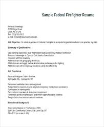 Sample Resume For Firefighter Position by Sample Firefighter Cover Letter