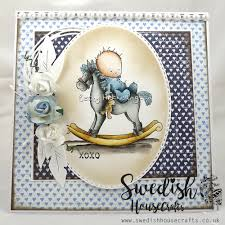 christening card by becky swedish house crafts