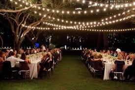 Lights For Backyard by String Lights For Backyard Wedding Backyard
