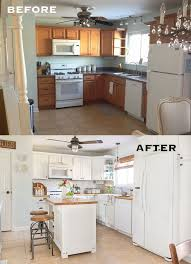 budget kitchen ideas 20 small kitchen renovations before and after diy design decor
