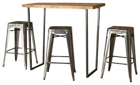 Industrial Bar Table Bar Height Table Industrial