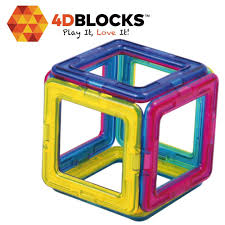 amazon com 4dblocks play it love it magnetic building