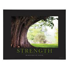 strength classic motivational poster from successories be