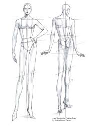 see my e book series drawing fashion for more body templates easy