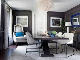 Beautiful Glamorous Dining Rooms Pictures Home Design Ideas - Grey dining room