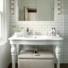 london corner pedestal sink bathroom transitional with white