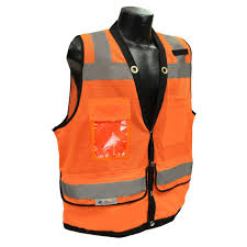 cl l home depot radians cl 2 heavy duty large surveyor orange dual safety vest sv59