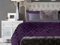 purple and silver living room ideas accessories walls grey bedroom