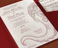 south asian wedding invitations baraat letterpress wedding invitation card