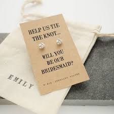 Gifts To Ask Bridesmaids To Be In Wedding Will You Be My Bridesmaid Gift Ideas Notonthehighstreet Com