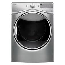 whirlpool 7 4 cu ft electric dryer with steam in diamond steel