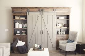 barn door style kitchen cabinets love the barn doors pantry