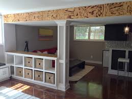 Basement Bedroom Ideas Amazing Basement Bedroom Area In Basement Bedroom Classic Bed