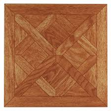 nexus classic parquet oak 12x12 self adhesive vinyl floor tile
