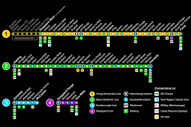 Subway Map by Ttc New Subway Map My Blog