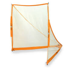 net full size portable lacrosse goal with roller bag