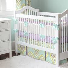 decorated aqua crib bedding home inspirations design