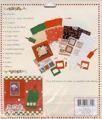 Colorbok Scrapbook Engelbreit Christmas Mini Scrapbook Album Kit Colorbok