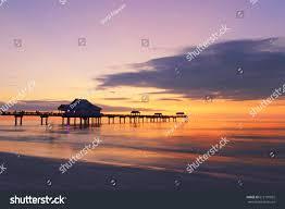 sunset pier 60 clearwater beach stock photo 612191822 shutterstock