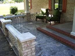 Sted Concrete Patio Designs Sted Concrete Patio With Railing Concrete Patio Railing Concrete