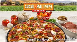 round table pizza delivery near me round table sausage and sweet peppers pizza make at home italian