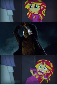 Jason Voorhees Memes - 738463 equestria girls exploitable meme friday the 13th