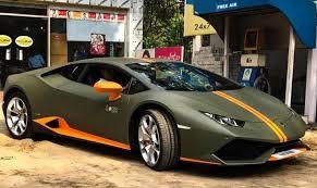 lamborghini sports car price in india unit of lamborghini huracan avio arrives on indian streets