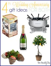 wedding anniversary gift ideas for 4th anniversary gift ideas wedding anniversary gifts