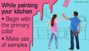 attractive paint colors for bright cheerful kitchens